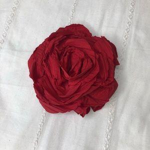 Zara Oversized Rose Pin/Hair Clip